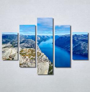 Slike na platnu Poged sa planine Nina30265_5