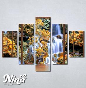 Slike na platnu Pogled ka vodopadu Nina278_5