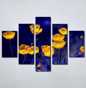 Slike na platnu Prelep žuti cvet Nina003_5