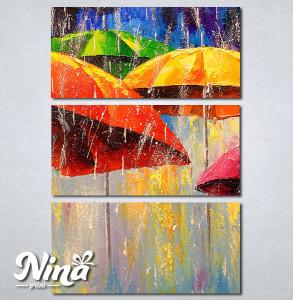 Slike na platnu Šareni kišobrani Nina272_3