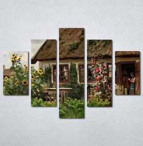 Slike na platnu Stari salas Nina205_5