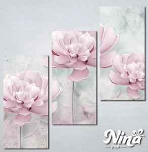 Slike na platnu Svetlo lila cvet Nina261_3