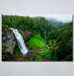 Slike na platnu Vodopad priroda Nina30323_P