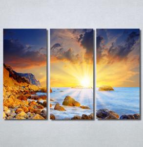 Slike na platnu Zalazak sunca i more Nina30218_3