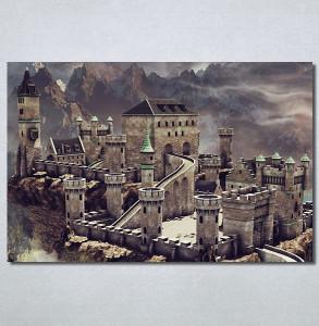 Slike na platnu Zamak Nina30291_P