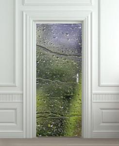Nalepnica za vrata Kiša 6025