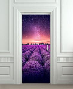 Nalepnica za vrata Lavanda6164