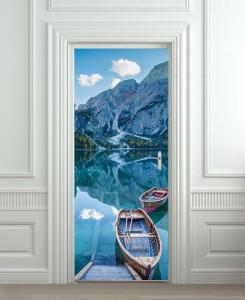 Nalepnica za vrata Planinsko jezero 6174
