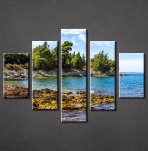 Slika na platnu Grčko ostrvo Nina3089_5