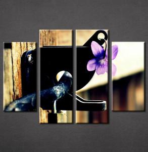 Slika na platnu Ljubicasti cvet Nina3053_4