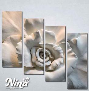 Slike na platnu 3d Ruža Nina300_4