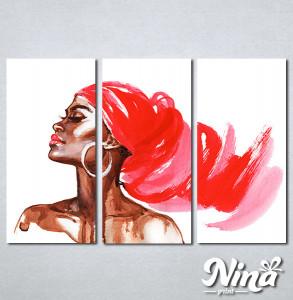 Slike na platnu Afrička devojka Nina309_3