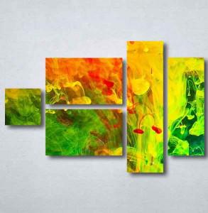 Slike na platnu Apstrakcija boje Nina090_5
