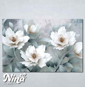 Slike na platnu Beli cvet Nina262_P