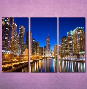 Slike na platnu Chicago Nina3095_3