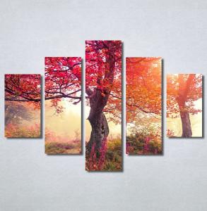 Slike na platnu Crveno drvo u jesen Nina30370_5