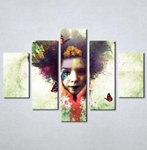 Slike na platnu Čudna devojk Nina060_5
