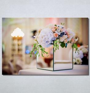 Slike na platnu Cvetna dekoracija Nina30346_P