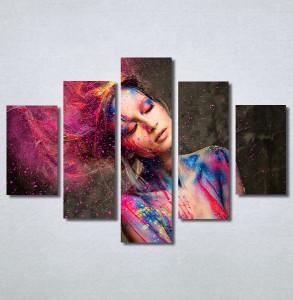 Slike na platnu Devojka boje Nina30372_5