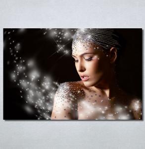 Slike na platnu Devojka i dijamanti Nina30357_P