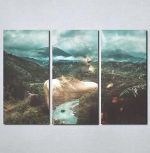 Slike na platnu Devojka i priroda Nina013_3