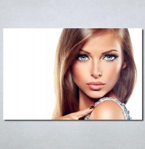 Slike na platnu Devojka sa plavim očima Nina30361_P