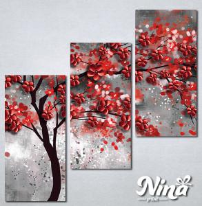 Slike na platnu Drvo crveno lišće Nina296_3