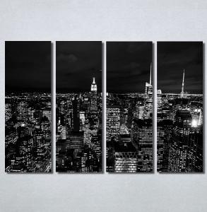Slike na platnu Grad noću Nina30161_4