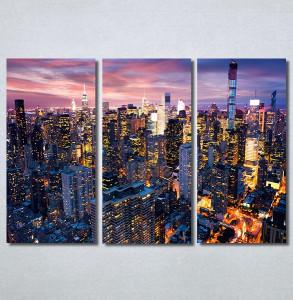 Slike na platnu Gradovi nocu Nina30315_3