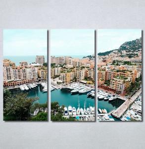 Slike na platnu Gradska luka Nina30322_3