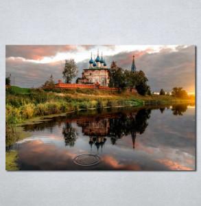Slike na platnu Hram reka Nina137_P