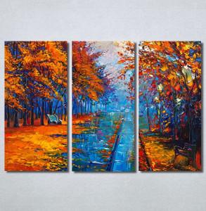Slike na platnu Jesen u parku Art Nina30324_3