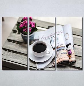 Slike na platnu Kafa i novine Nina30330_3
