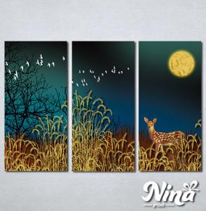 Slike na platnu Lane u šumi Nina301_3