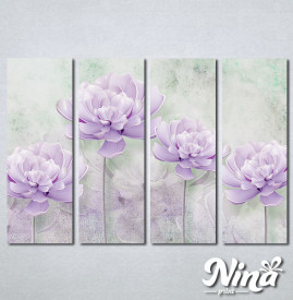 Slike na platnu Lila cvet Nina260_4