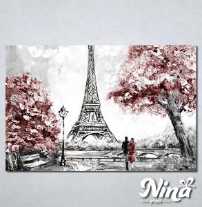 Slike na platnu Ljubav u Parizu Nina319_P