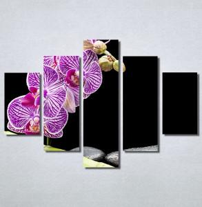 Slike na platnu Ljubicasta orhideja i bambus Nina30213_5