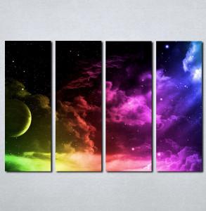 Slike na platnu Mesec i nebo Nina019_4