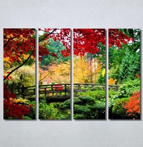 Slike na platnu Most u parku Nina30375_4