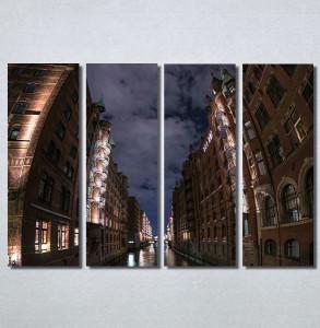 Slike na platnu Mračna ulica Nina 30197_4