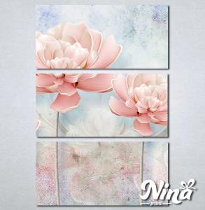 Slike na platnu Nežno roze cvet Nina259_3