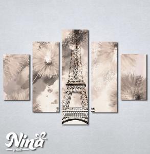 Slike na platnu Pariz grad svetlosti Nina266_5
