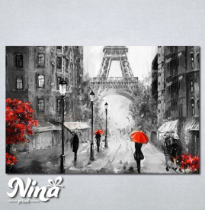 Slike na platnu Pariz Nina236_P
