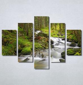 Slike na platnu Planinski potok Nina30371_5