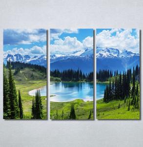 Slike na platnu Planinsko jezero Nina30320_3
