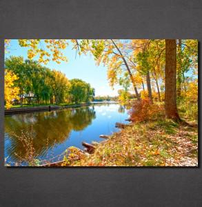 Slike na platnu Reka u jesen Nina30127_P