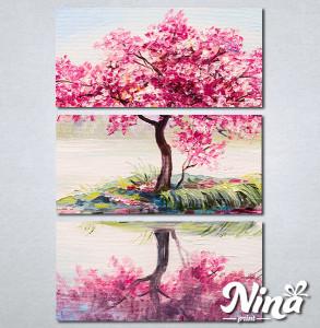 Slike na platnu Roze drvo Nina336_3