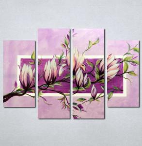 Slike na platnu Roze magnolija Nina226_4