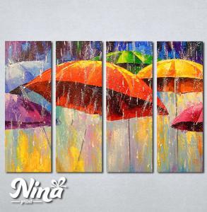 Slike na platnu Šareni kišobrani Nina272_4