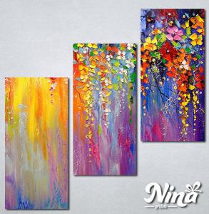 Slike na platnu Šarenilo boja Nina277_3